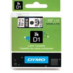 DYMO 45010 (S0720500) DirectLabel-etikettes, 12mm x 7m