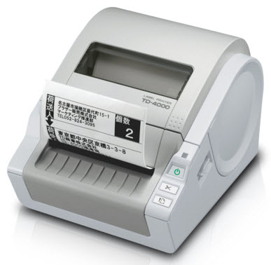 Td-4000 - Industrial Label Printer - Direct Thermal - 105mm - Rs232c / USB