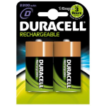 Duracell Rechargable D 2PK Rechargeable battery Nickel-Metal Hydride (NiMH)