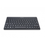 Wacom WKT-400-DE mobile device keyboard Black QWERTZ German Bluetooth