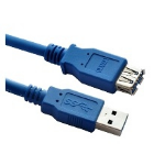 Astrotek 1m USB 3.0 A/A USB cable USB A Male Female Blue