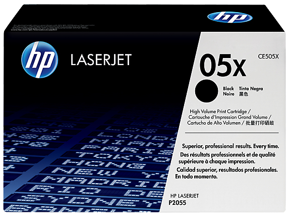 HP 05X Toner Black