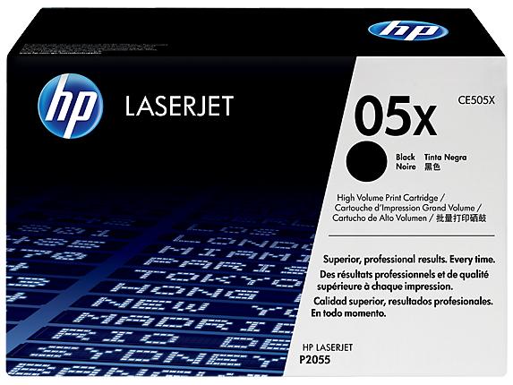 HP 05X Laser toner Black