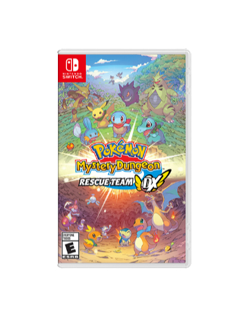 Nintendo Pokémon Mystery Dungeon: Rescue Team DX, Switch video game Nintendo Switch Basic