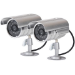 Proper Dummy Aluminium Security Camera Kit