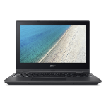 "Acer TravelMate Spin B1 B118-RN-P25L Black Hybrid (2-in-1) 29.5 cm (11.6"") 1920 x 1080 pixels Touchscreen Intel® Pentium® N4200 4 GB DDR3L-SDRAM 64 GB Flash"