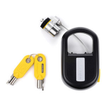 Kensington MicroSaver® Retractable Laptop Lock - Keyed Different