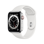 Apple Watch Series 6 44 mm OLED 4G Silver GPS (satellite)