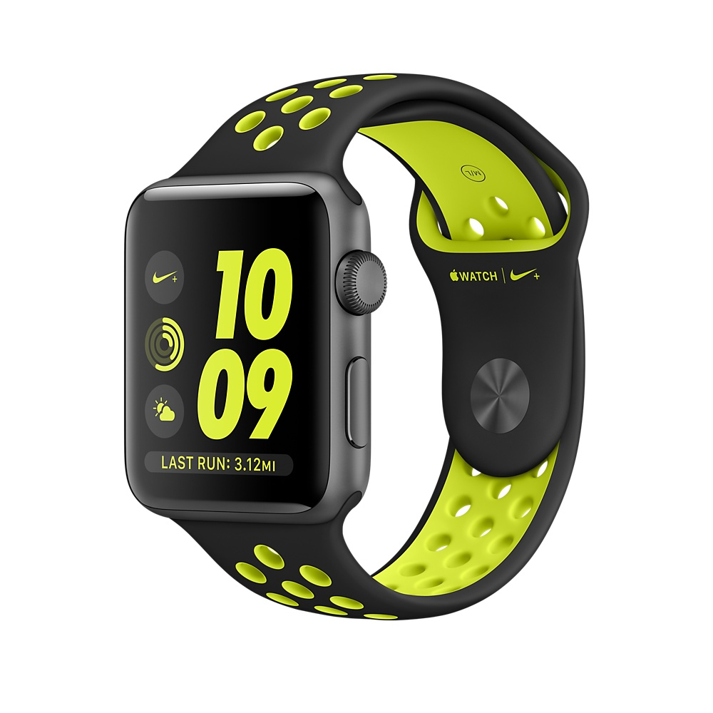 Apple Watch Nike+ OLED 28.2g Grey smartwatch