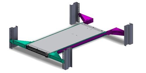 Mellanox Technologies MTEF-KIT-E accesorio de bastidor Kit de montaje