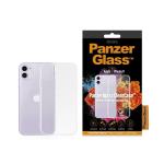 "PanzerGlass 0209 mobile phone case 15.5 cm (6.1"") Cover Transparent"