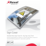 Rexel Standard Gloss Sign Covers A3 (10)