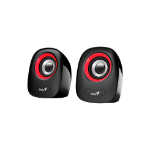 Genius SP-Q160 1-way Black, Red Wired 6 W