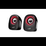 Genius SP-Q160 1-way Black, Red Wired 6 W