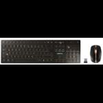 CHERRY DW 9000 SLIM RF Wireless + Bluetooth UK English Black JD-9000GB-2