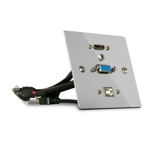 Lindy 60216 socket-outlet Silver