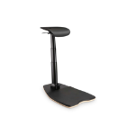 Digitus Ergonomic Stand / Sit / Lean Chair, Height Adjustable with Anti-Fatigue Mat