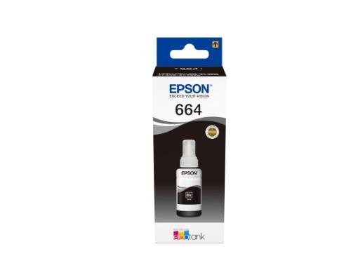 Epson C13T664140 (664) Ink bottle black, 4K pages, 70ml