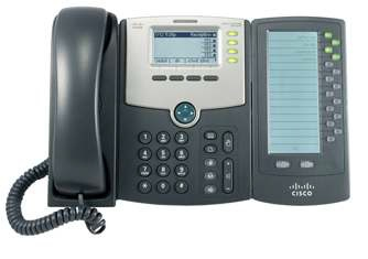 Cisco SPA500DS IP phone Black Wired handset LCD 30 lines