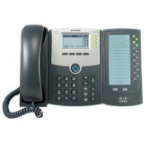 Cisco SPA500DS Wired handset 30lines LCD Black IP phone