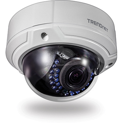 Trendnet TV-IP341PI IP security camera Indoor & outdoor Dome White security camera