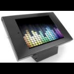 Maclocks Compulocks iPad Secure Metal Jacket Enclosure with 45� Kiosk Black - Stand for tablet - aluminium -