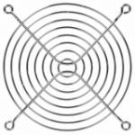 Logic Case Chrome Fan Guard for 120mm Case Fan