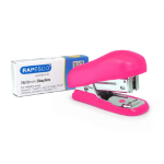 Rapesco Bug Mini Pink Flat clinch
