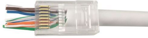 MICROCONNECT MODULAR EZ PLUG RJ45 8P8C CAT6