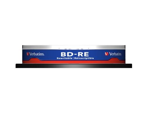 Verbatim BD-RE SL 25GB 2x 10 Pack Spindle 10 pc(s)