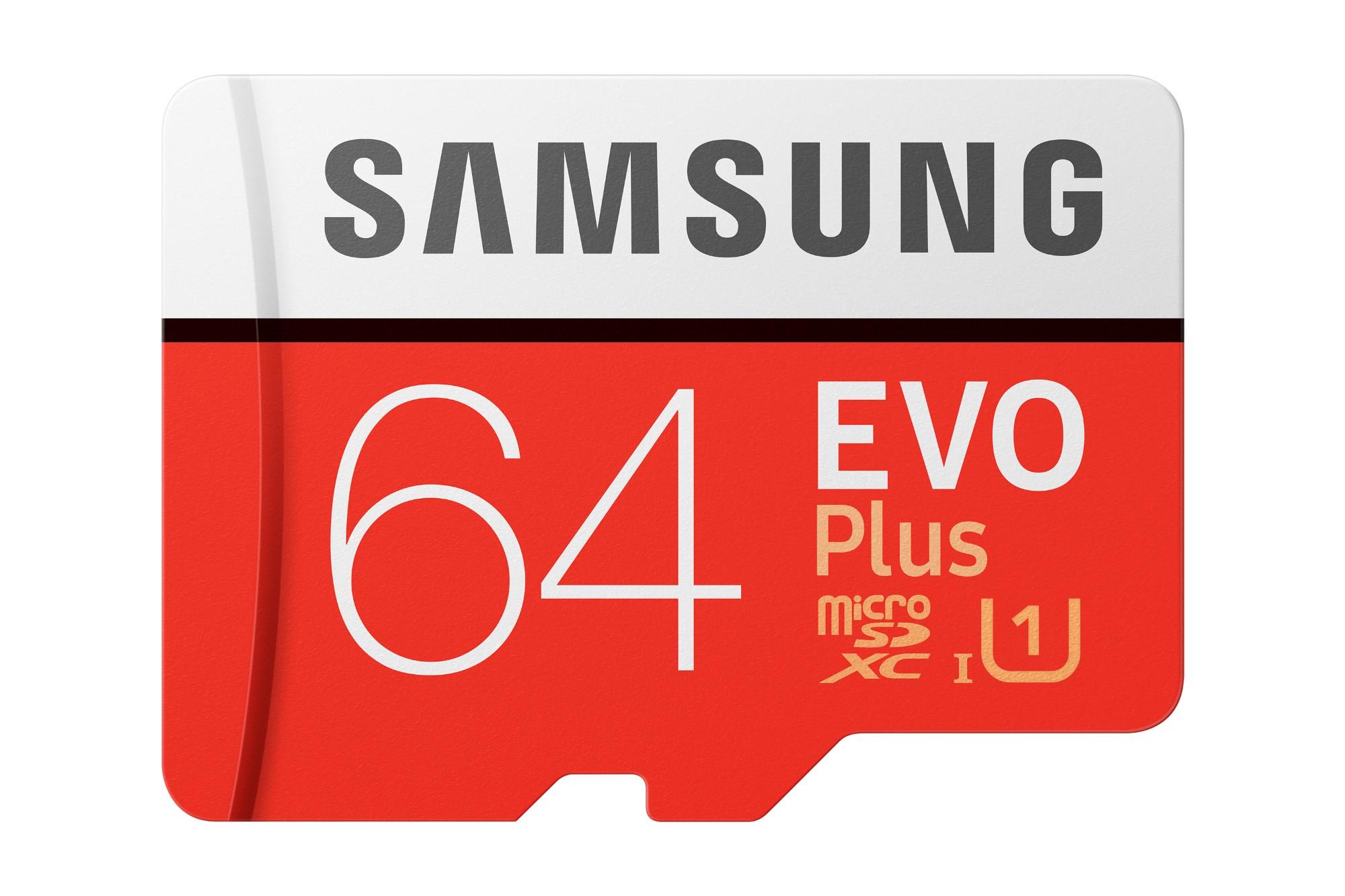 Samsung Evo Plus memoria flash 64 GB MicroSDXC Clase 10 UHS-I