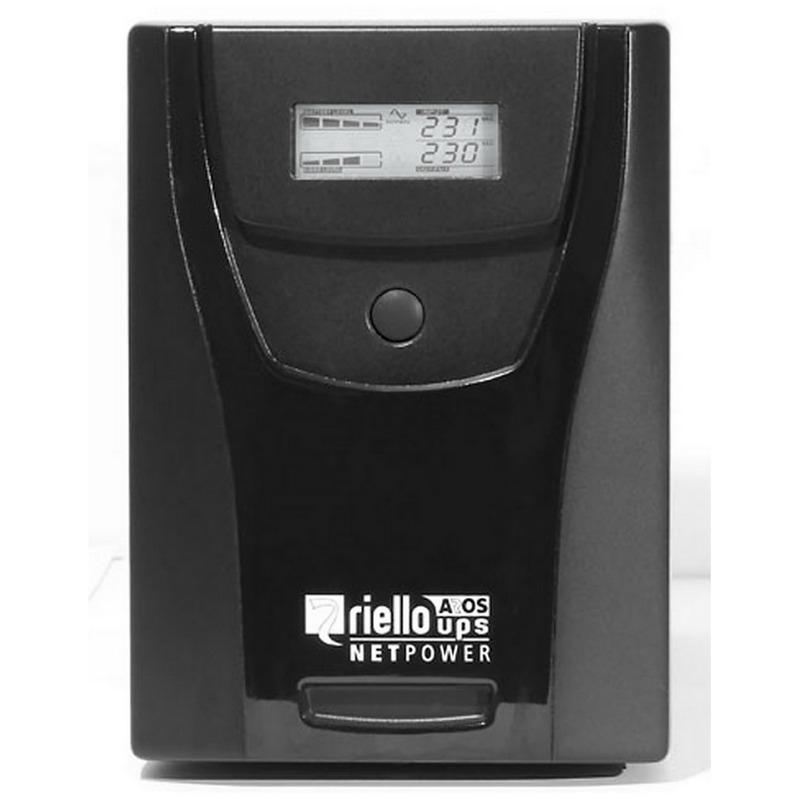 Riello NPW 1000 sistema de alimentación ininterrumpida (UPS) Línea interactiva 1000 VA 600 W 6 salidas AC