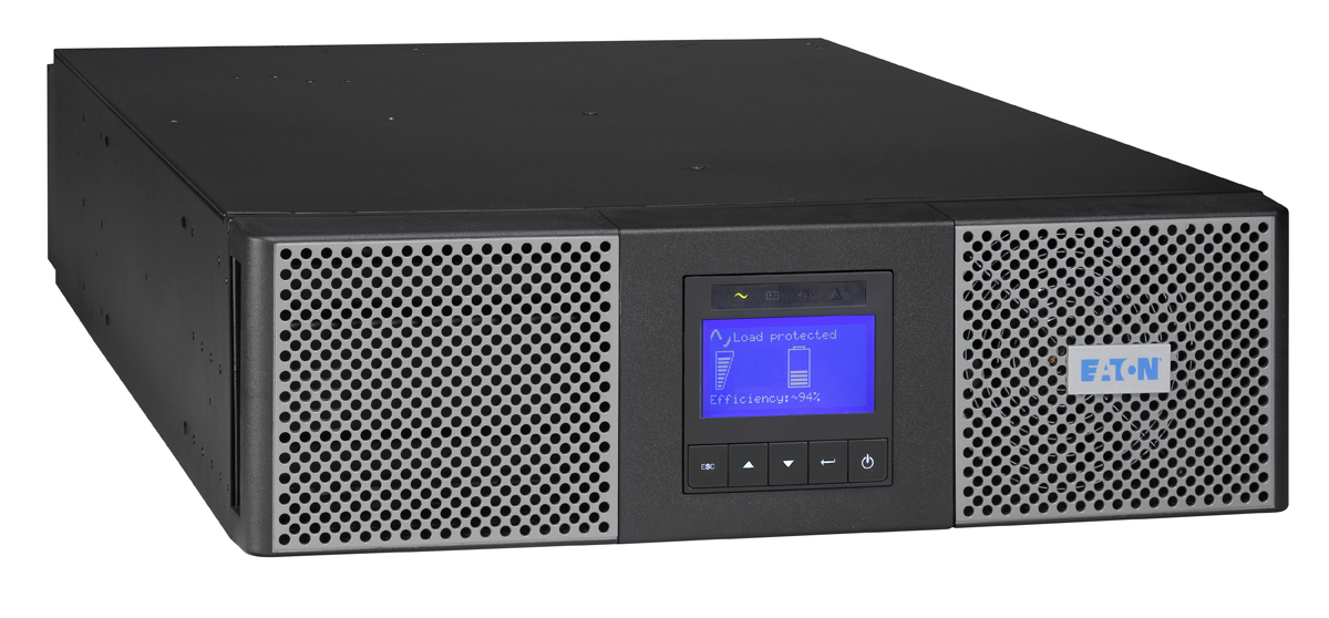 Eaton 9PX5KIRTN sistema de alimentación ininterrumpida (UPS) Doble conversión (en línea) 5000 VA 4500 W 11 salidas AC