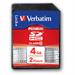 Verbatim SDHC 4GB