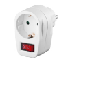 Microconnect GRUTIMER2 surge protector White 1 AC outlet(s) 230 V