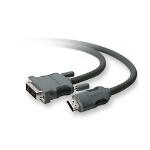 Belkin 3m, DVI-D/HDMI 3m DVI-D HDMI Black