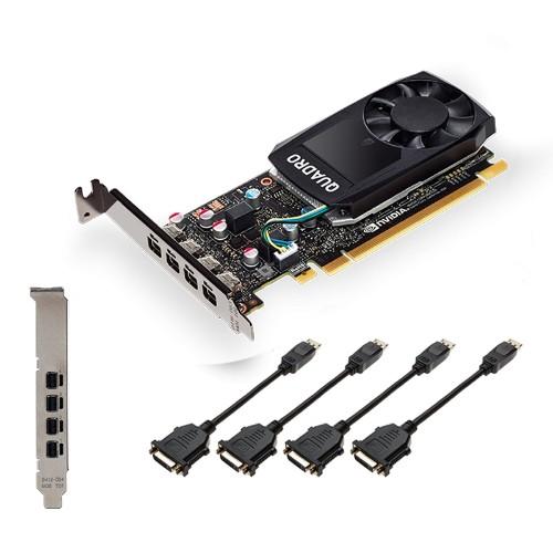 PNY VCQP1000DVIV2-PB graphics card NVIDIA Quadro P1000 V2 4 GB GDDR5