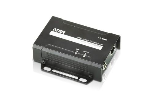 Aten VE801T AV extender AV transmitter Black