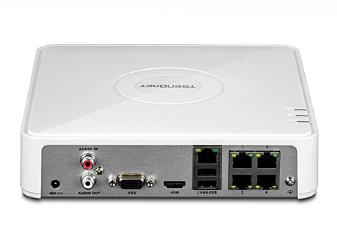 Trendnet TV-NVR104D2 White network video recorder