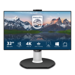 Philips P Line LCD monitor with USB-C Dock 329P9H/00