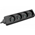 Hypertec 808541-HY power extension 1.5 m 4 AC outlet(s) Indoor Black
