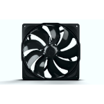 Noiseblocker B14-PS-BL Computer case Fan 14 cm Black