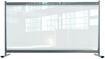 Nobo 1915548 magnetic board Grey, Transparent