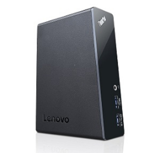 Lenovo 40AA0045UK notebook dock/port replicator Wired USB 3.0 (3.1 Gen 1) Type-A Black