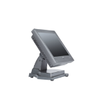 """NCR RealPOS 25 POS terminal 38.1 cm (15"""") Touchscreen 1.86 GHz D2550 All-in-One Black"""