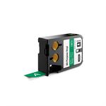 DYMO 1868782 Black on green label-making tape
