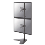 "Newstar FPMA-D550DDVBLACK flat panel floorstand 81.3 cm (32"") Black"