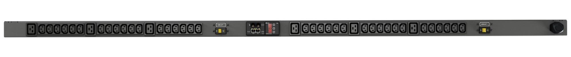 Vertiv Geist rPDU, monitored, 0U, input IEC60309 230V 32A, outputs (36)C13 | (6)C19 unidad de distribución de energía (PDU) Negro 42 salidas AC