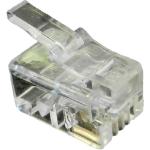 Cablenet 22 2142 RJ10 Transparent wire connector
