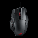 ASUS ROG Spatha mouse RF Wireless+USB Laser 8000 DPI Left-hand